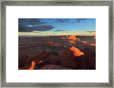 Early Morning At Dead Horse Point Framed Print