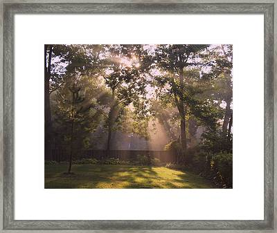 Early Morning Peace Framed Print by Kathleen Scanlan