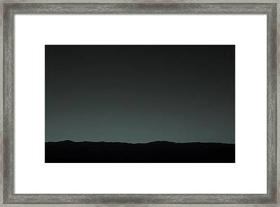 Earth From Mars Framed Print by Nasa/jpl-caltech/msss/tamu