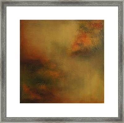 Framed Print featuring the painting Earth Tones by Debra Crank