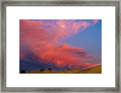 East Bay Sunset Framed Print by Marc Crumpler