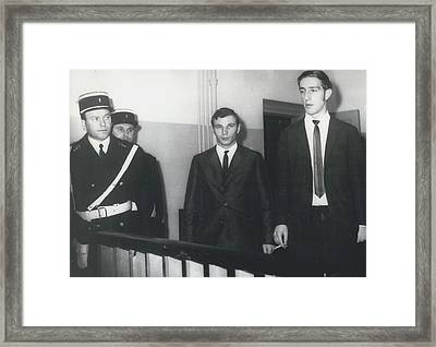 East German Skyjackers Get Two Years Gaol Framed Print by Retro Images Archive