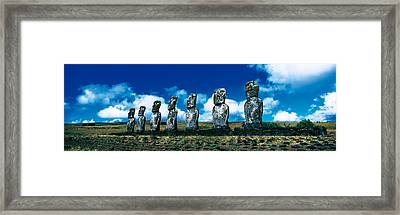 Easter Island Chile Framed Print by Panoramic Images