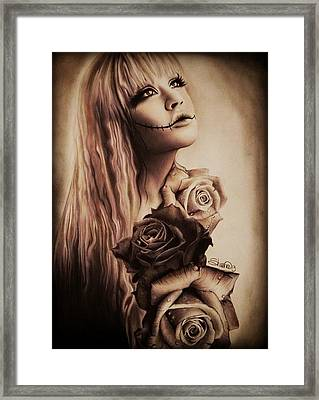 Ebony Framed Print by Sheena Pike