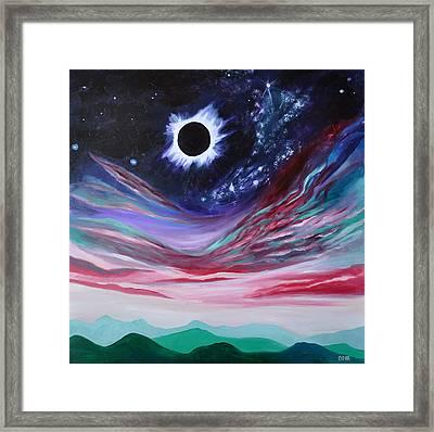 Eclipse IIi Framed Print by Cedar Lee