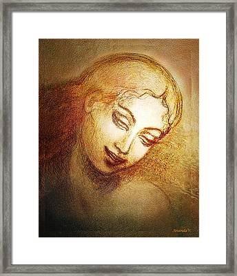 Ecstasy Framed Print by Ananda Vdovic