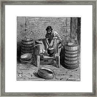 Edam Production, 19th Century Framed Print by CCI Archives