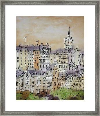 Edinburgh Scotland Framed Print