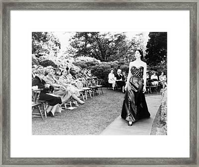 Edith Galt Wilson (1872-1961) Framed Print