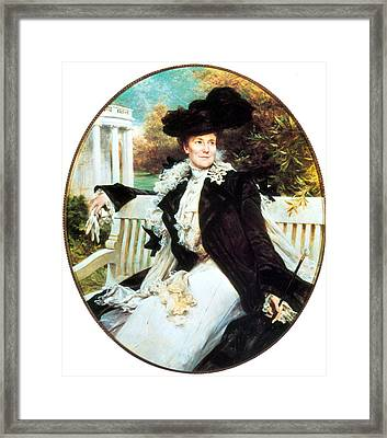 Edith Roosevelt, First Lady Framed Print