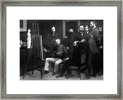 Edouard Manet (1832-1883) Framed Print