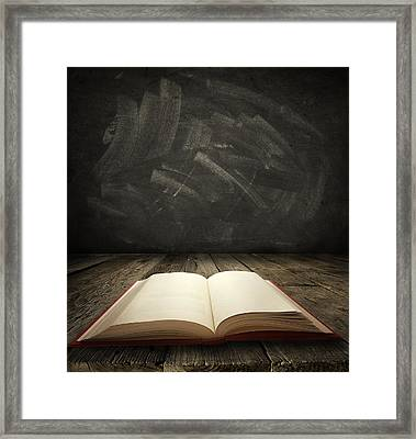 Education Framed Print by Les Cunliffe