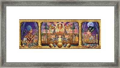 Egyptian Framed Print by Ciro Marchetti