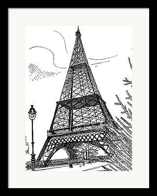 Malbec Drawings Framed Prints