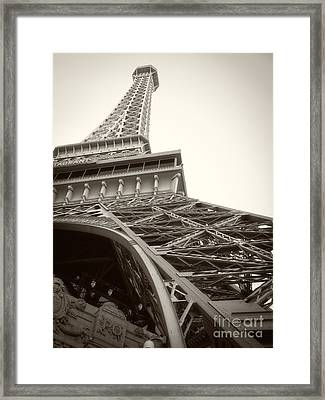 Eiffel Tower Framed Print by Edward Fielding