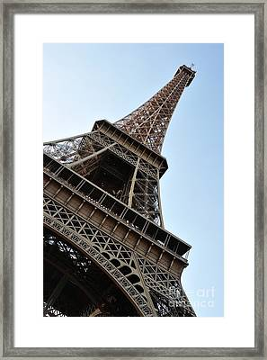 Framed Print featuring the photograph Eiffel Tower by Joe  Ng