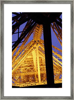 Eiffel Tower - Paris France - 011310 Framed Print