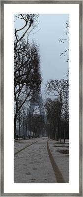 Eiffel Tower - Paris France - 011312 Framed Print by DC Photographer