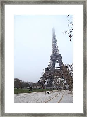 Eiffel Tower - Paris France - 011313 Framed Print by DC Photographer