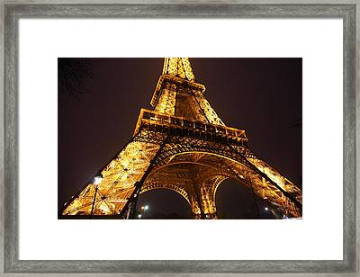 Eiffel Tower - Paris France - 011314 Framed Print