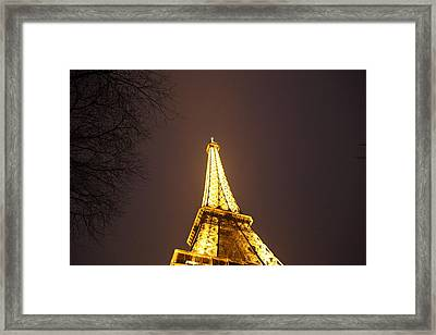 Eiffel Tower - Paris France - 011316 Framed Print by DC Photographer