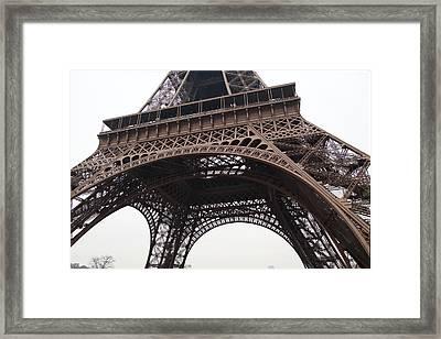 Eiffel Tower - Paris France - 01133 Framed Print