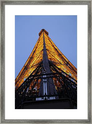 Eiffel Tower - Paris France - 01135 Framed Print