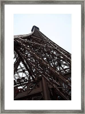 Eiffel Tower - Paris France - 01137 Framed Print by DC Photographer