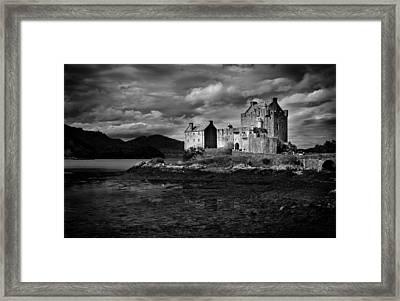 Framed Print featuring the photograph Eilean Donan by Bud Simpson