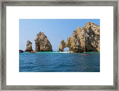 El Arco, The Arch, Cabo San Lucas Framed Print