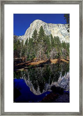 El Capitan Reflection Framed Print by Scott McGuire
