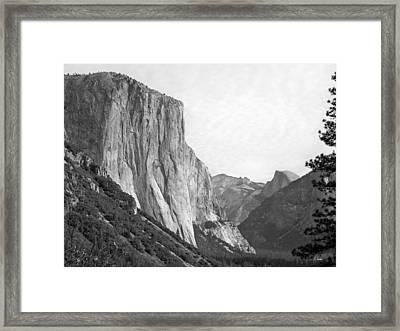El Capitan Framed Print by Thomas Leon