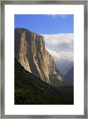 El Capitan Yosemite Framed Print by Alex King
