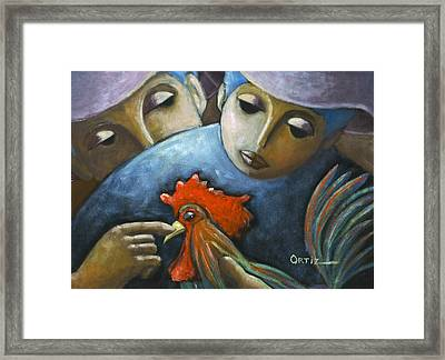 El Gallo Framed Print