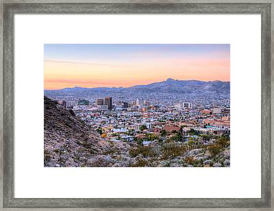 El Paso Framed Print by JC Findley