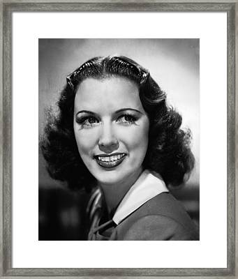 Eleanor Powell Framed Print by Silver Screen