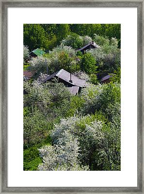Elevated Town View From Goritsky Framed Print