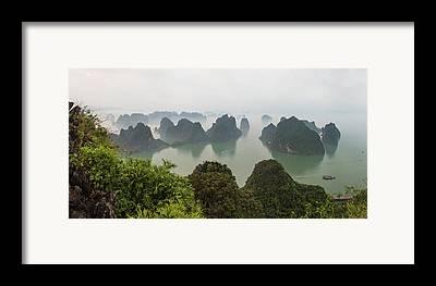 Ha Long Bay Framed Prints