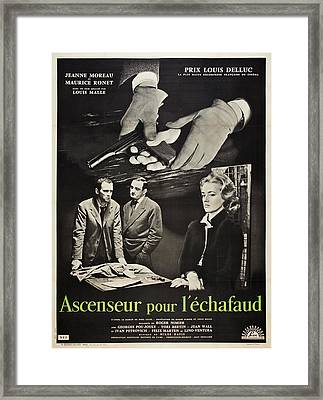 Elevator To The Gallows, Aka Ascenseur Framed Print