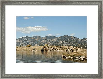 Eleven Mile State Park Framed Print by Juli Scalzi