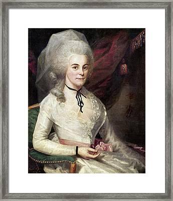 Elizabeth S Framed Print by Granger
