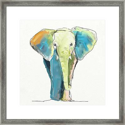 Ellie Framed Print by Cathy Walters
