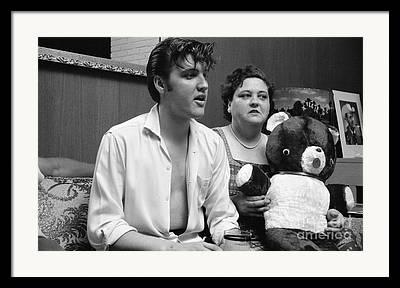 Elvis Photographs Framed Prints