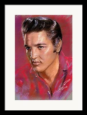 Elvis Presley Framed Prints