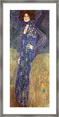 Emilie Floege Framed Print by Celestial Images