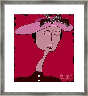 Emma Framed Print by Iris Gelbart