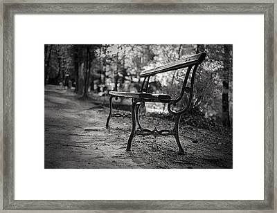 Framed Print featuring the photograph Emptiness by Antonio Jorge Nunes