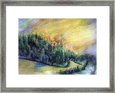 Enchanted Island Framed Print