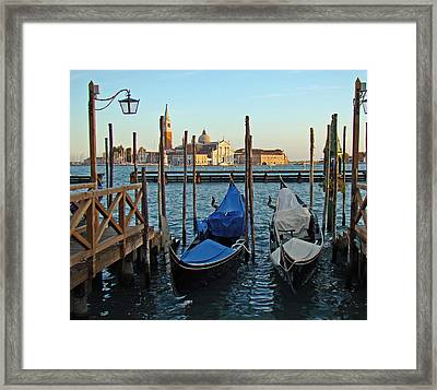 End Of A Day Framed Print
