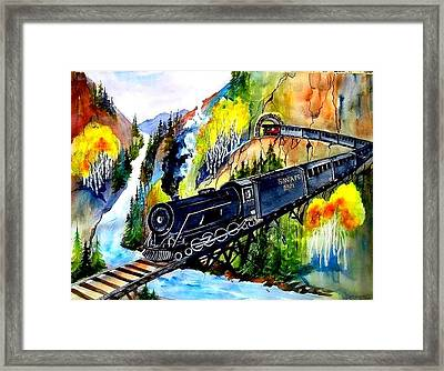 Engine No. 2921 Framed Print